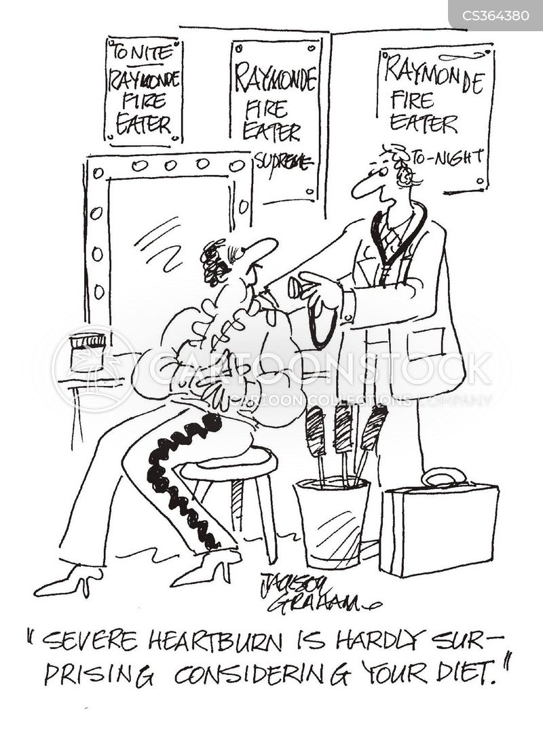 unhealthy living cartoon