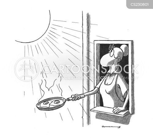 fryin pan cartoon