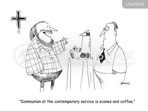 religious rite cartoon
