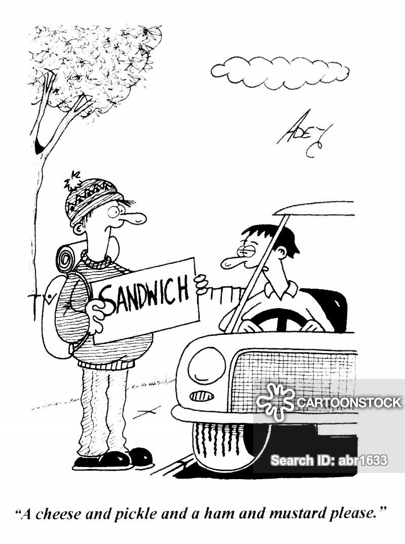 drive-throughs cartoon