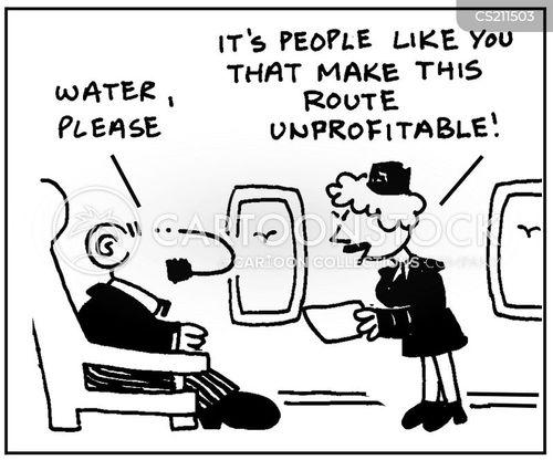 flight route cartoon