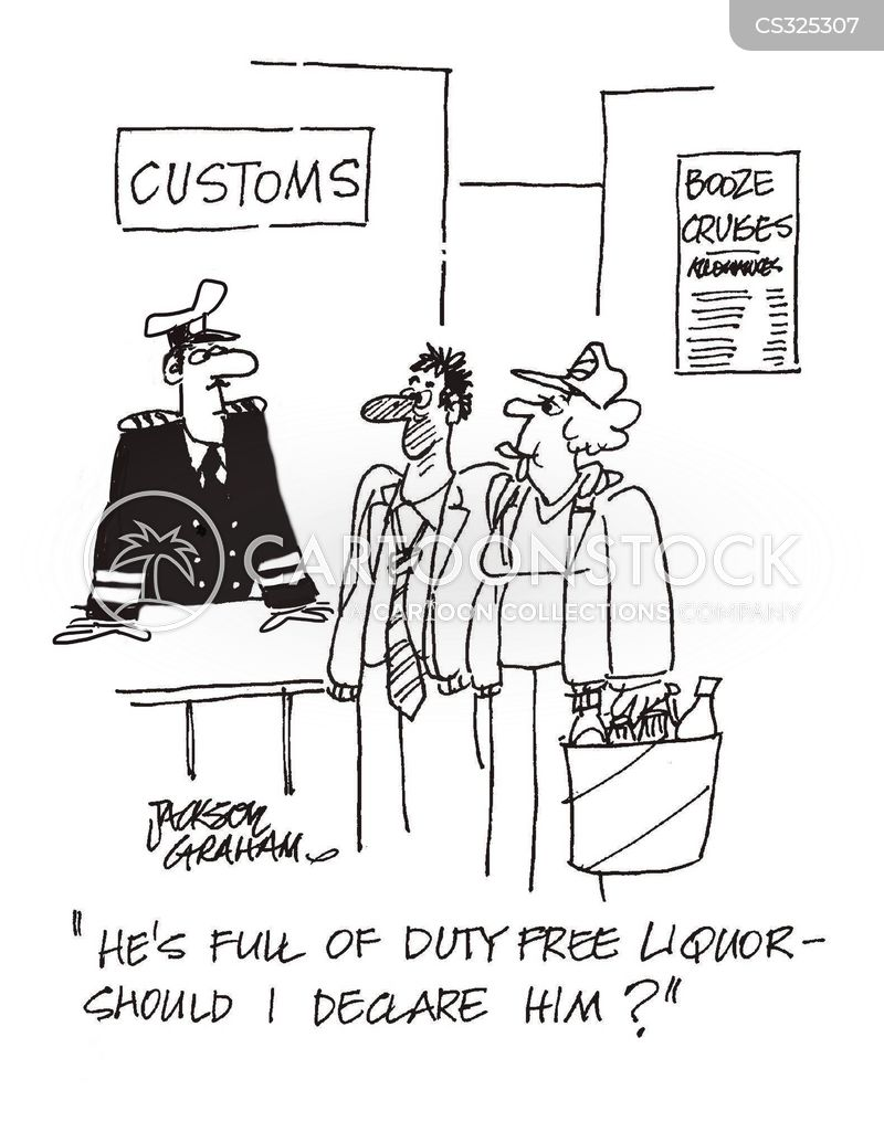 booze cruise cartoon