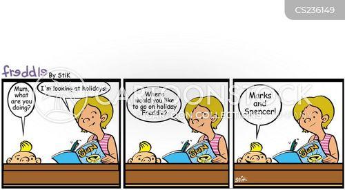 breakchild cartoon