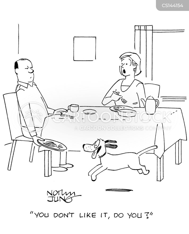 home cooked meals cartoon