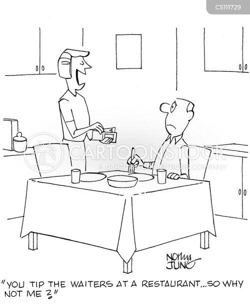 homemade meals cartoon