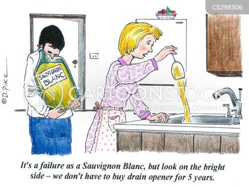 winemakers cartoon