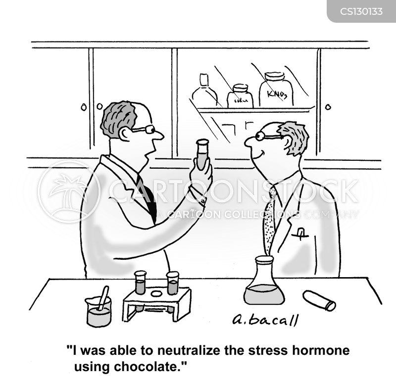hormone cartoon
