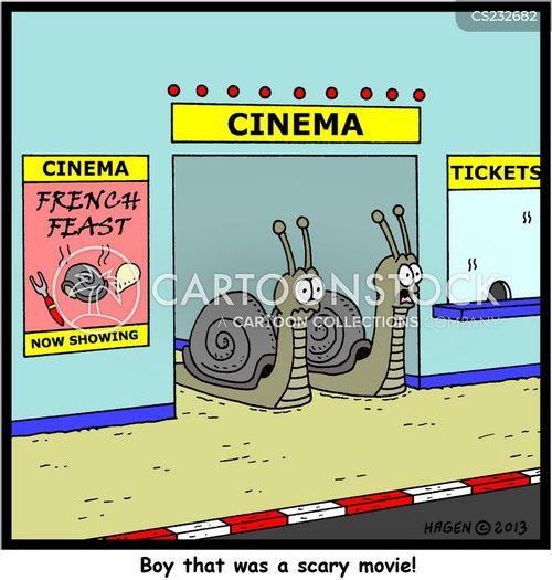 scary film cartoon
