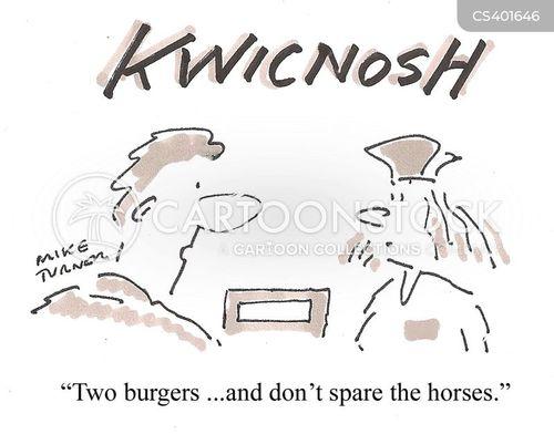 beefburgers cartoon