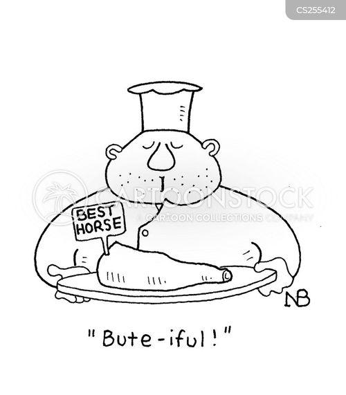 food scandals cartoon