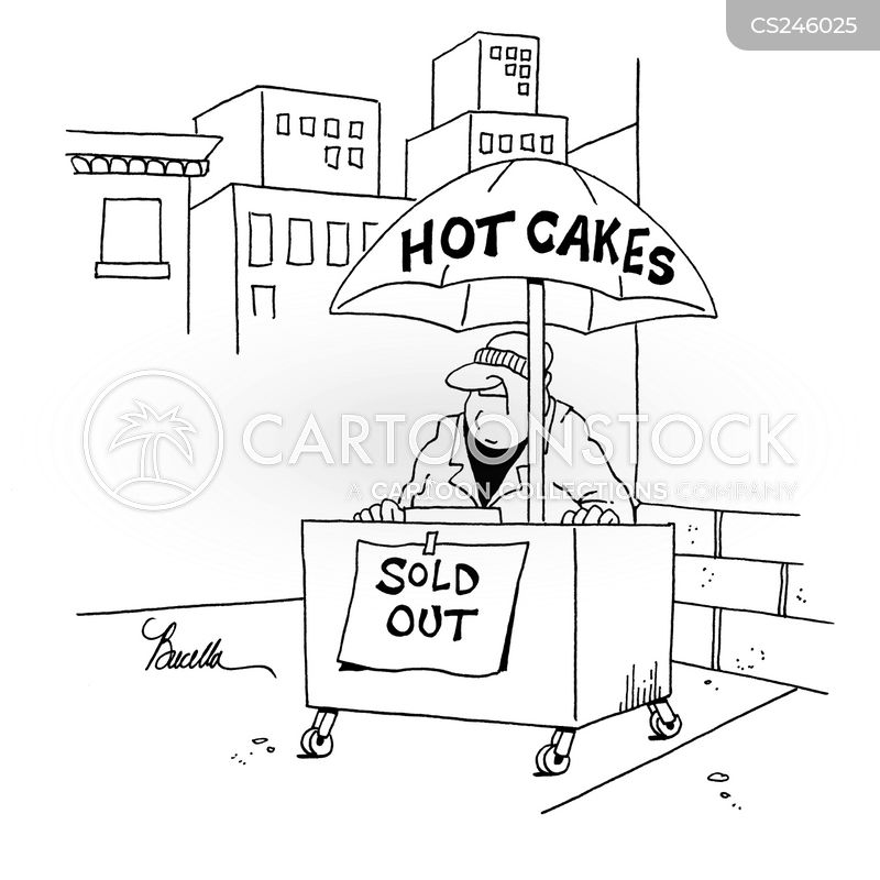 Selling Like Hot Cakes Cartoons and ics funny pictures from