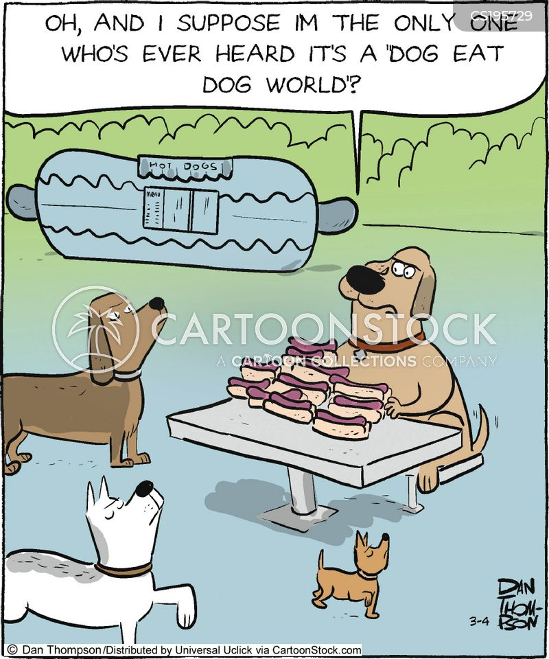 food snob cartoon