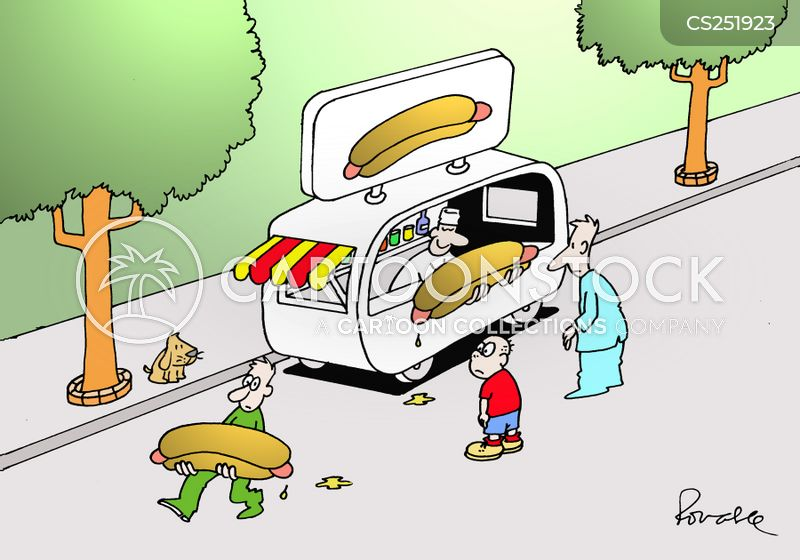 weiner cartoon