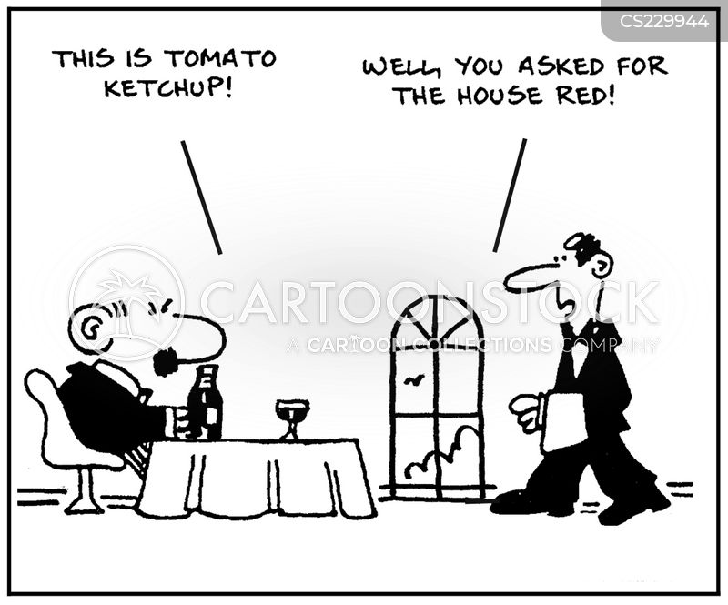 tomato ketchup cartoon