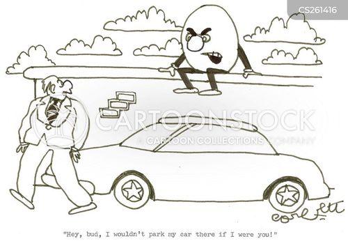 parking problems cartoon