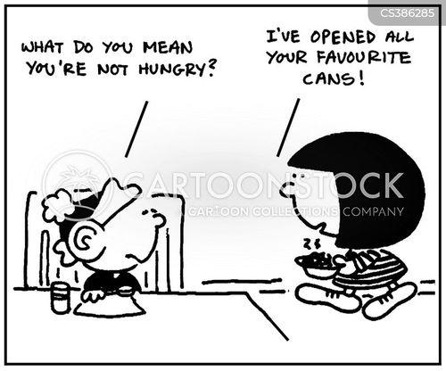 appetizing cartoon