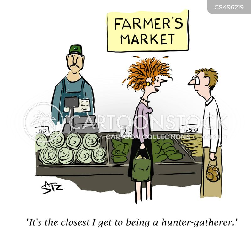 farm produce cartoon