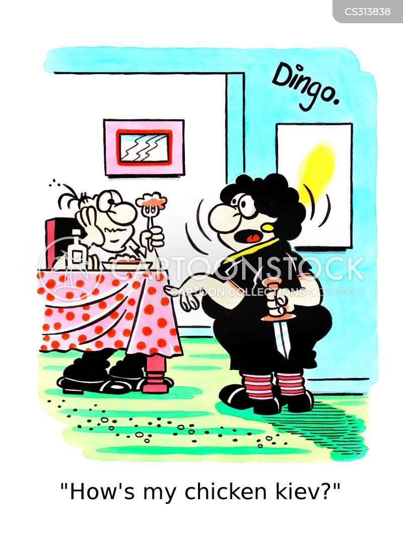 daggers cartoon