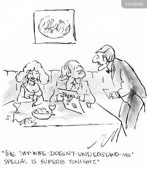 specials board cartoon