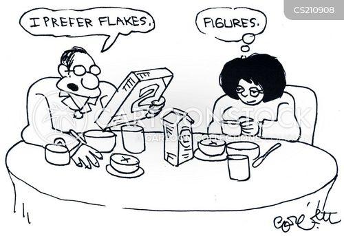 flake cartoon