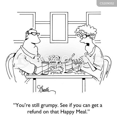 refunding cartoon