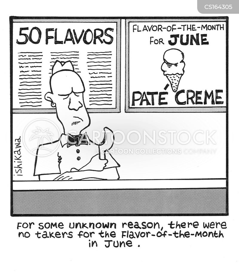 desserts cartoon