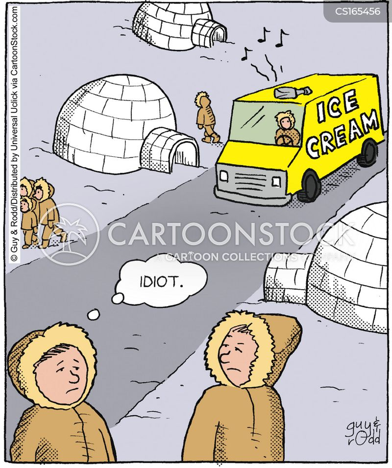 eskimos cartoon