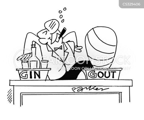 gin cartoon