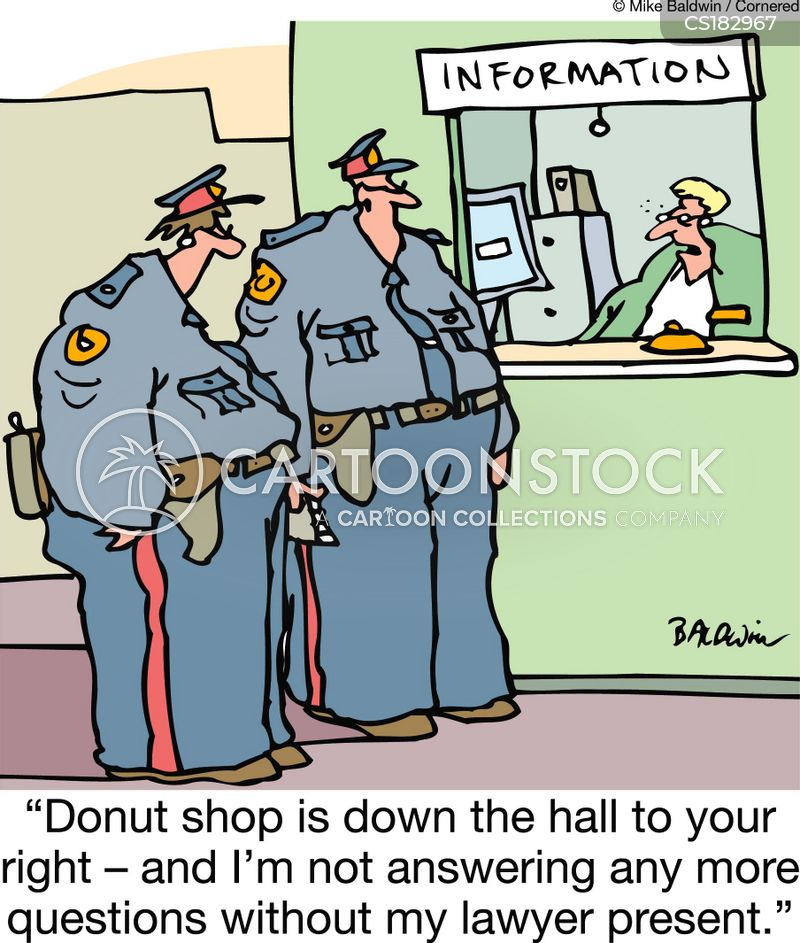 donut shop cartoon