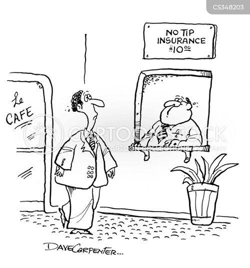 no tip cartoon