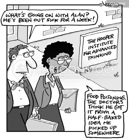 research institutes cartoon