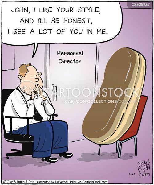 work discrimination cartoon