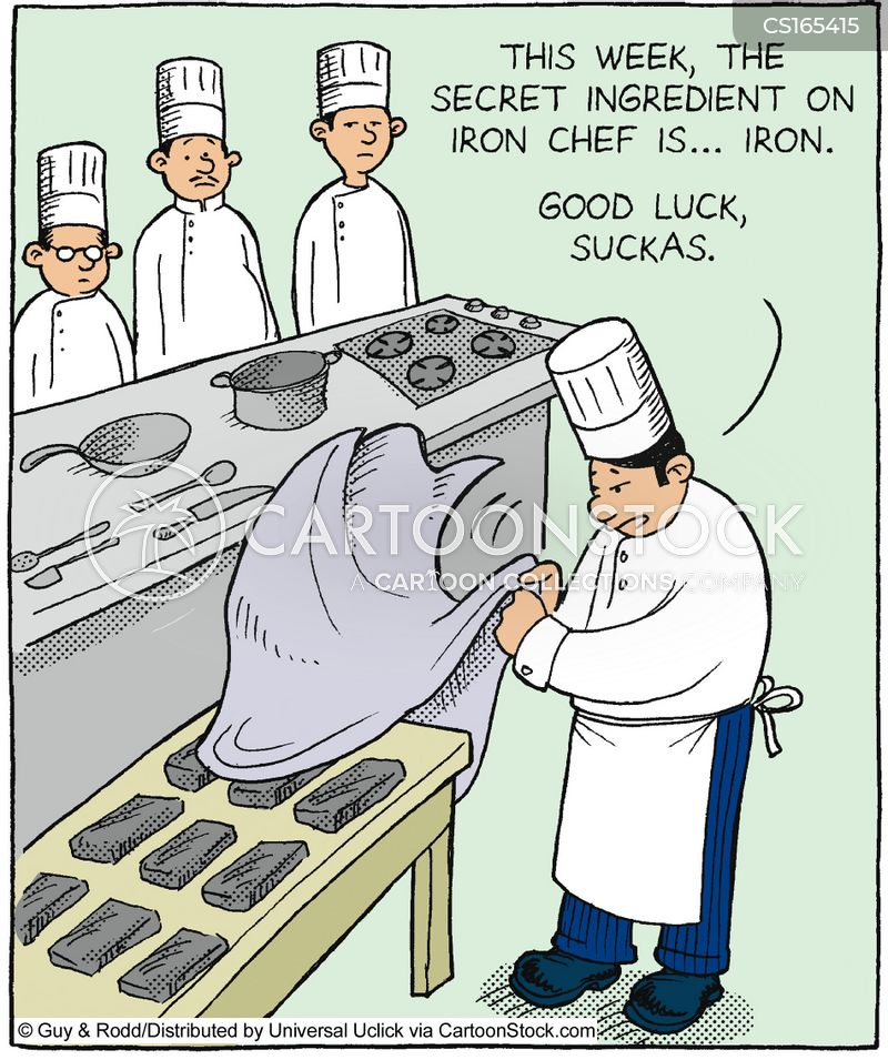 cookery programs cartoon