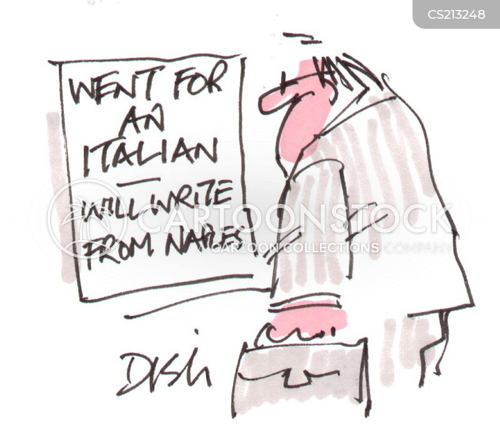 naples cartoon