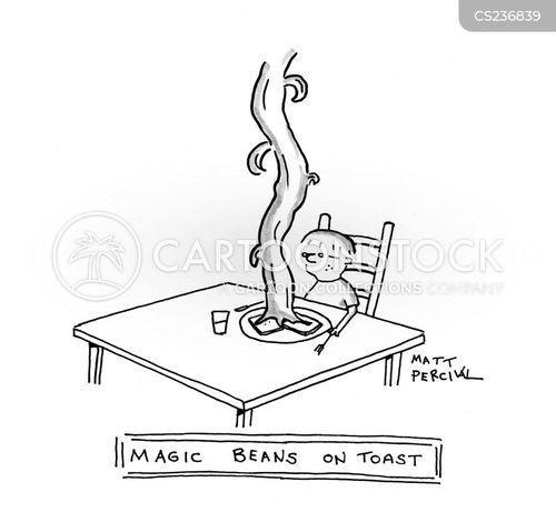 beans on toast cartoon