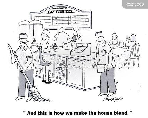 blends cartoon