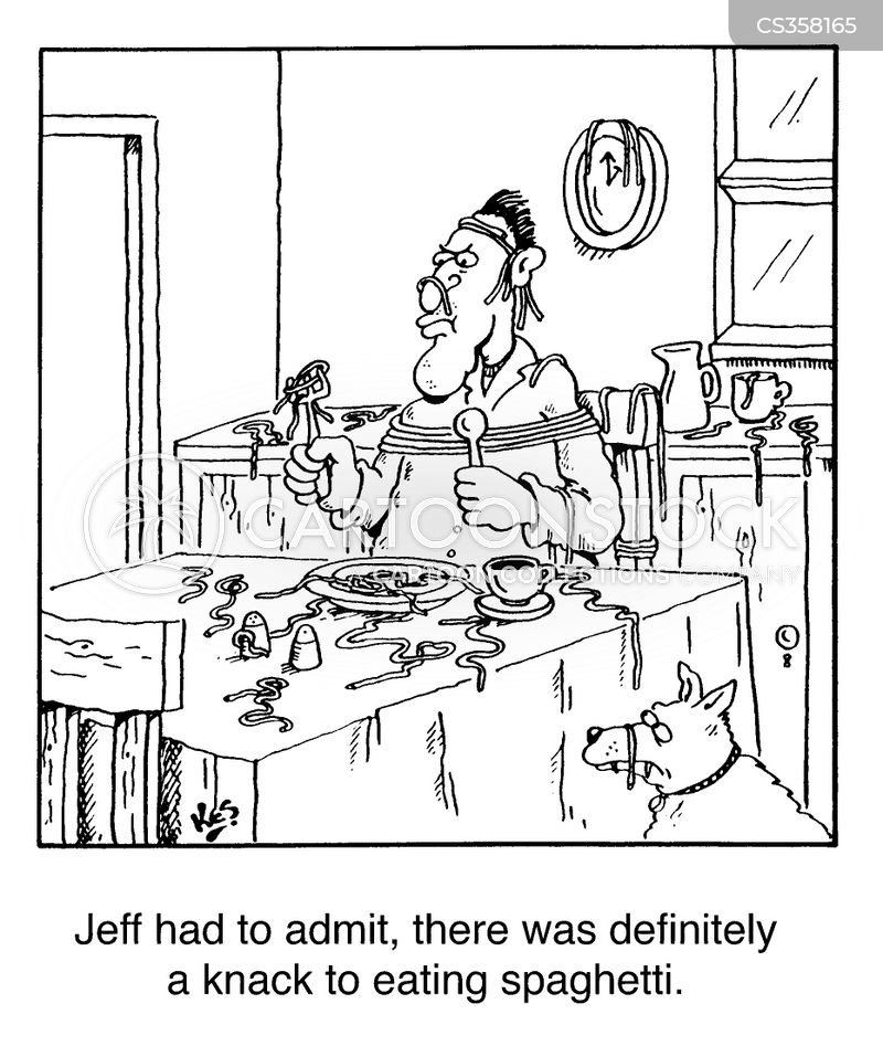 Messy Kitchen Cartoon: Funny Pictures From CartoonStock