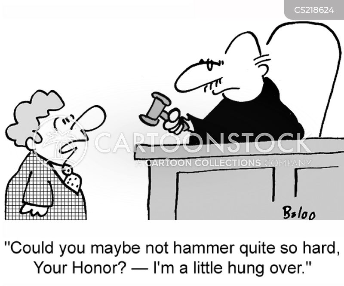 hungover cartoon