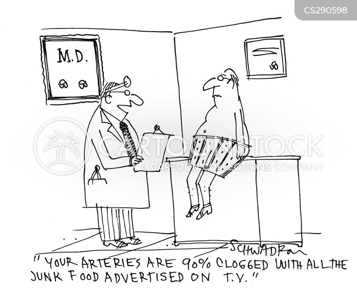 arteries cartoon