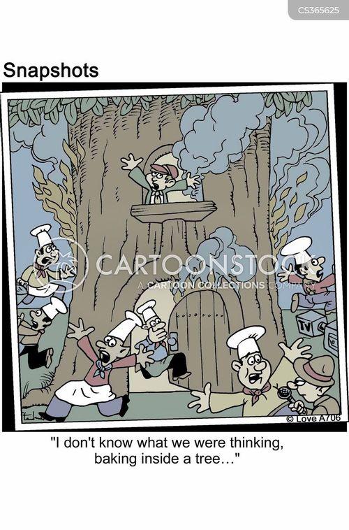 tree house cartoon