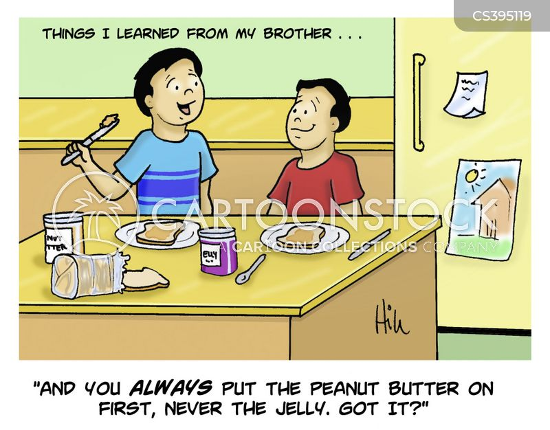 Peanut-butter Cartoons and Comics - funny pictures from CartoonStock