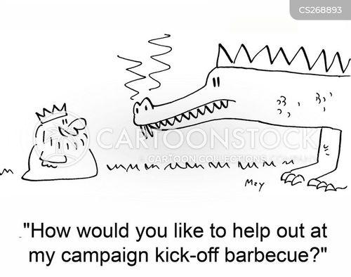 kickoff cartoon