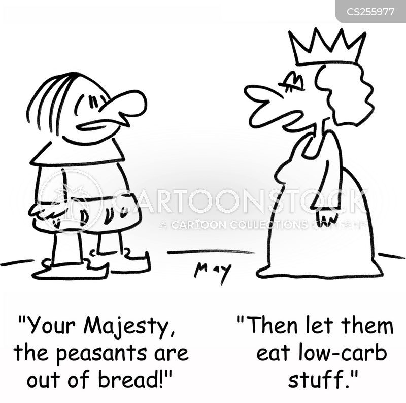 low-carb cartoon