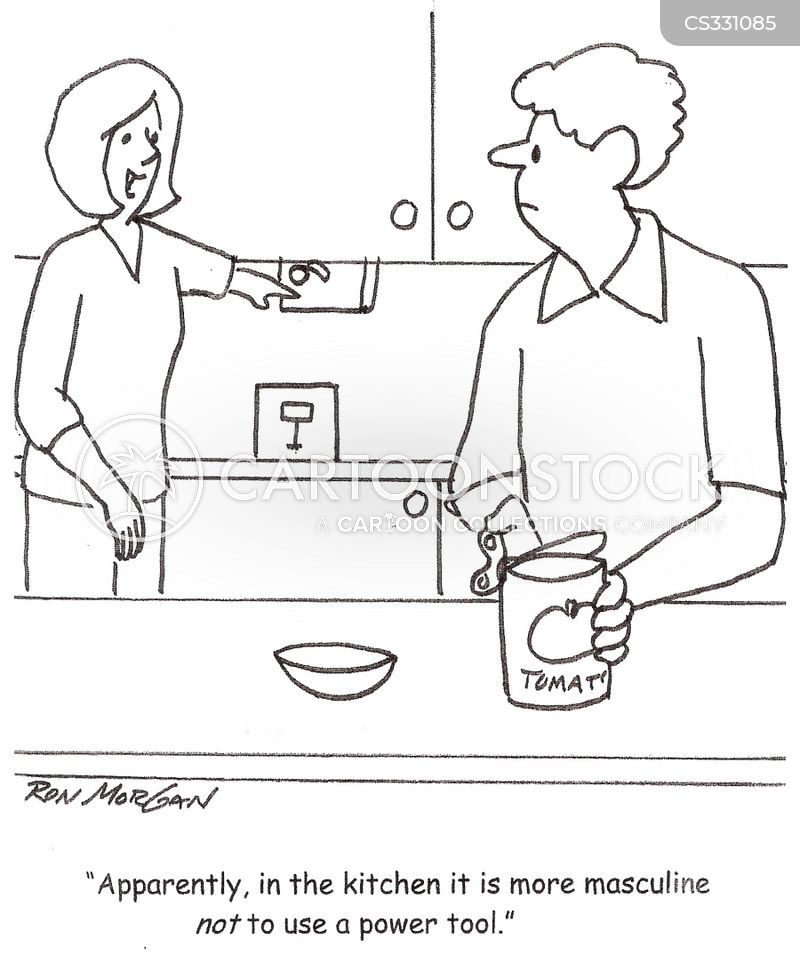 kitchen gadget cartoon