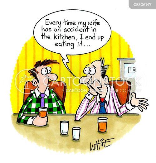 kitchen skills cartoon