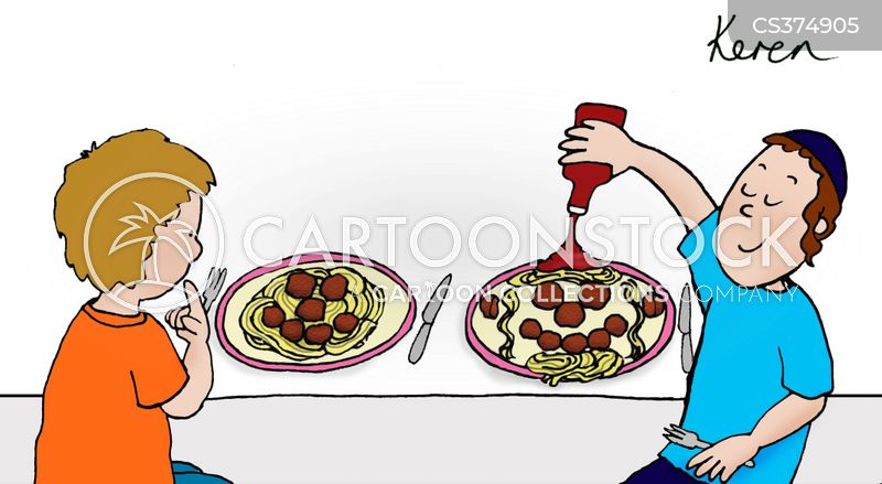 Kosher Foods Cartoons and Comics - funny pictures from CartoonStock
