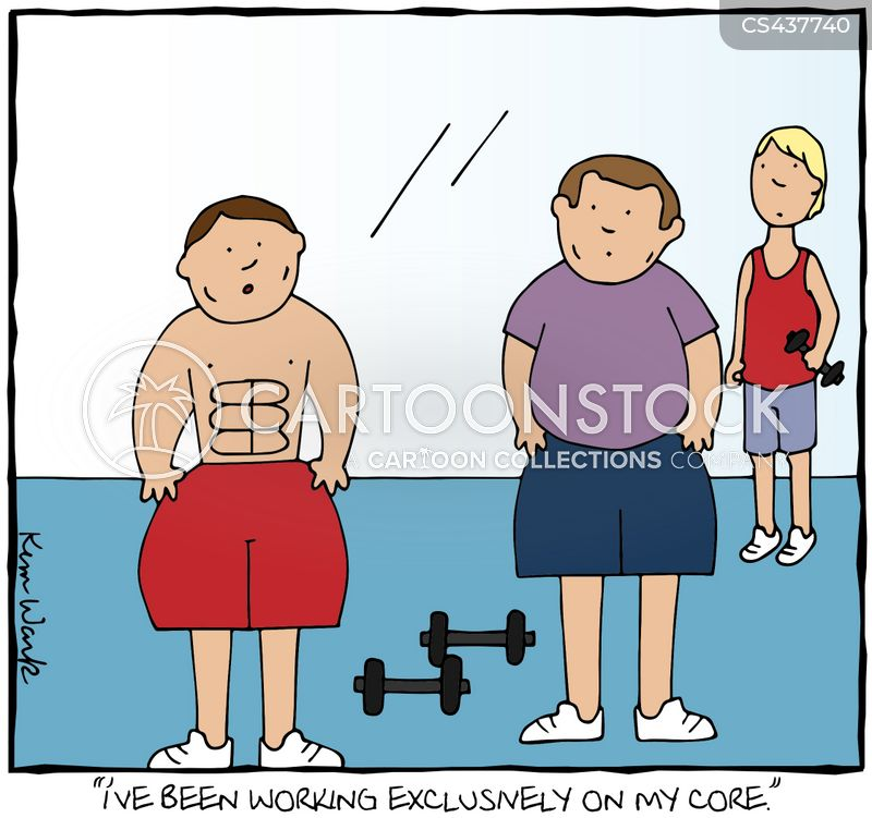 abdomen cartoon