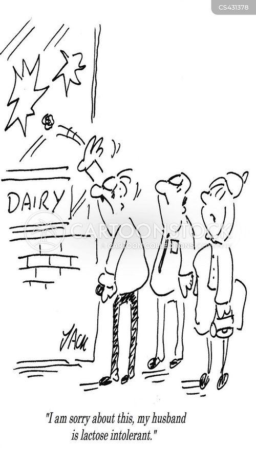 lactose-intolerant cartoon
