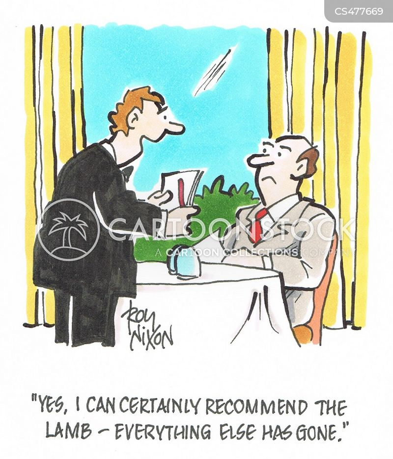 food recommendations cartoon