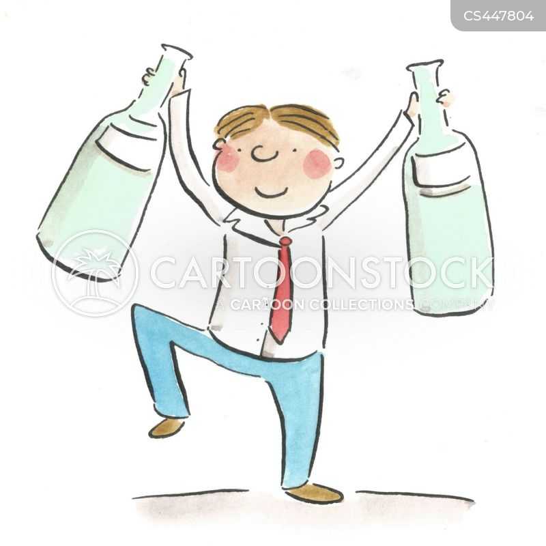 milkman cartoon